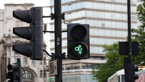'Pride' pedestrian traffic signals will be installed