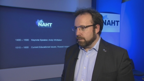 The NAHT's Russell Hobby discusses issues currently facing teachers due to education policy