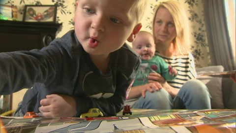 Toddler recovers just before life support turned off