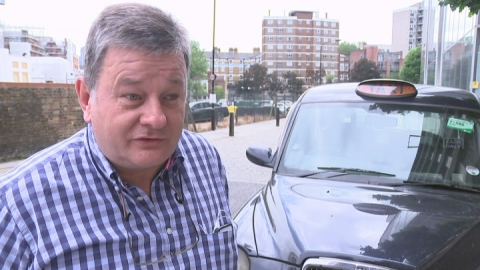 Taxi driver recalls exchange of words with Boris Johnson