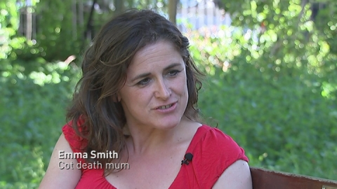 Cot death mother: we should be very careful