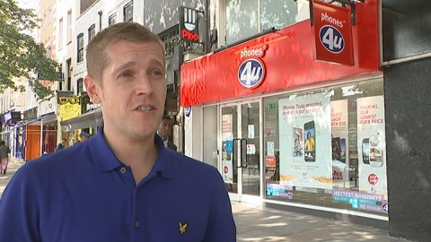 Mobile News: customers of Phones 4u 'shouldn't be worried'