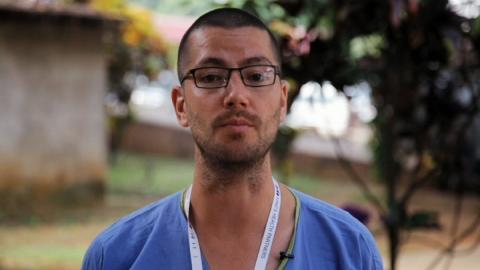 Ebola survivor William Pooley gives Christmas message