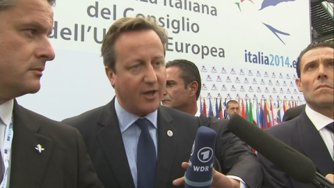 Cameron says more needs to be done to fight Ebola