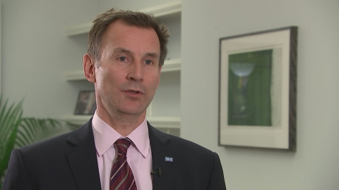 Jeremy Hunt: Strike action is 'extremely disappointing'
