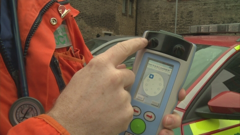Brain scanner being trialled by London's Air Ambulance