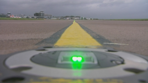 New runway lights designed by ATG Airports to reduce carbon emissions at airports