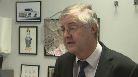 Mark Drakeford, Welsh Health Minister speaks on e-cigarettes