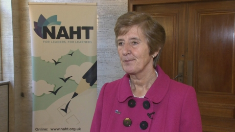 Gail Larkin speaks about her aims and objectives for 2014 as incoming NAHT President