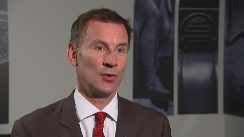 Jeremy Hunt: Cancer patients to get faster diagnosis