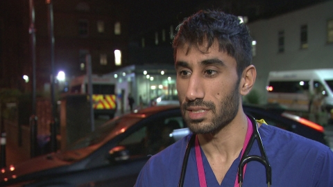 'Junior doctors have been forced to take industrial action'