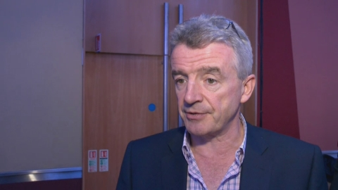Ryanair chief Michael O'Leary says airlines and airports should cooperate, taxes are too high