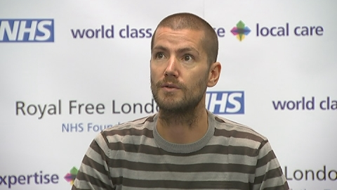 Ebola survivor: William Pooley speaks about his experience