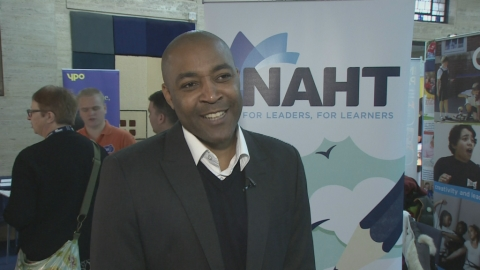 Darren Campbell MBE talks about the importance of inspiring young people to achieve their life goals