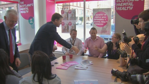 Nick Clegg announces mental health waiting targets