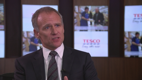 Tesco CEO: We have made 'progress but it's not complete'