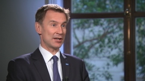 Jeremy Hunt: A&E waiting time targets met in 90% of cases