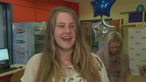Salford students open their A-level results