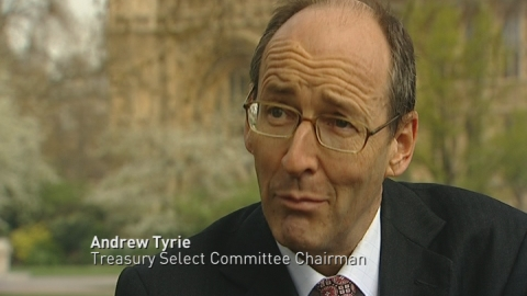 Andrew Tyrie: BoE right to tackle bonuses