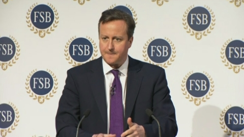Cameron: We have slashed business regulations