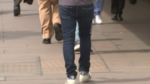 Public reaction to skinny jeans health warning