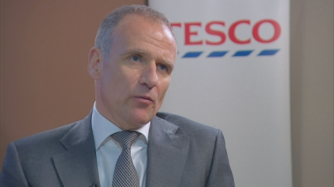 "Tesco boss ""looking to the future"" after losses"
