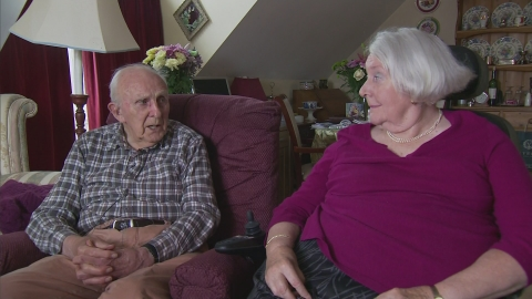 Pensioners reunited after care home separation